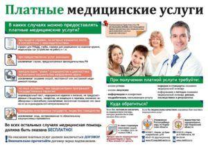 Банер платная медицинская помощь
