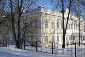 Поликлиника зимой